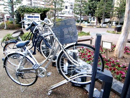 京都市役所前の駐輪場