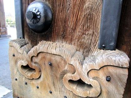 西本願寺御影堂門の意匠