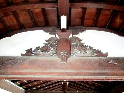 建仁寺の蛙股 建仁寺の意匠