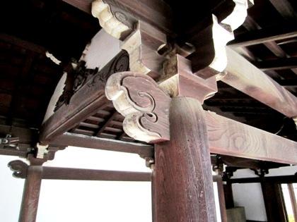 木鼻 建仁寺の意匠