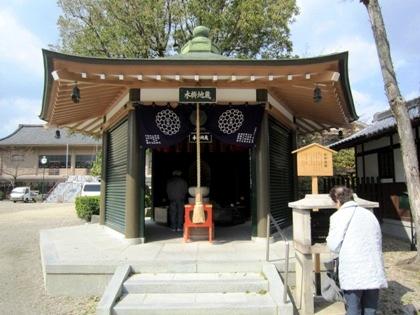 壬生寺の水掛地蔵