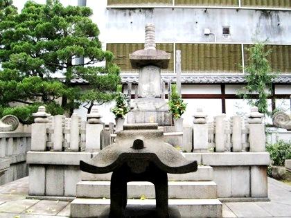 織田信長の墓 本能寺
