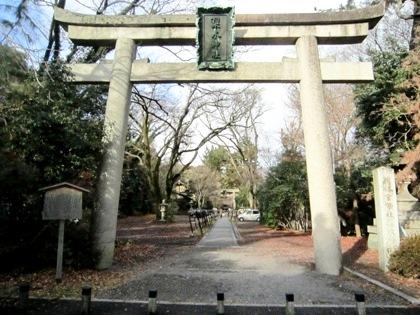 梨木神社一の鳥居