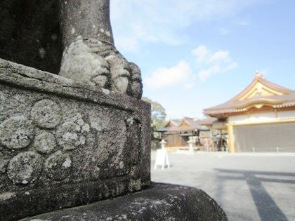 北野神社御旅所の神紋