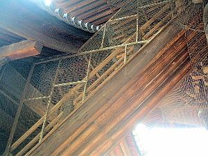 南禅寺三門 梯子階段 特別拝観