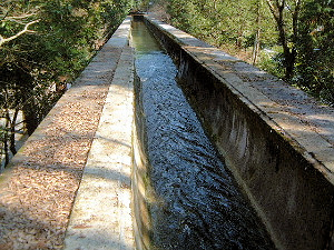 南禅寺の水路閣 疎水陸橋