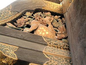 唐門の彫刻 二条城