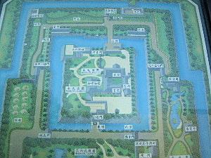 二条城の地図