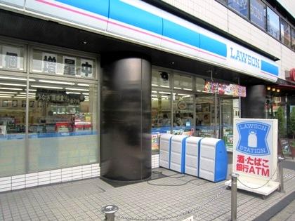 京都駅前のローソン