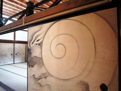 皐月鶴翁の龍図
