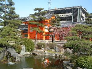 池泉式庭園 三十三間堂