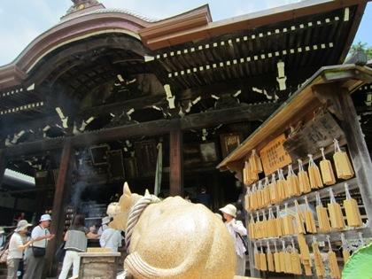 三室戸寺の牛 宝勝牛