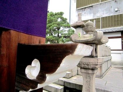 織田信長のお墓