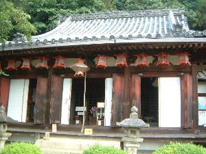 尊勝院の本堂
