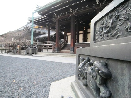 佛光寺灯籠のデザイン