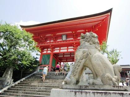 清水寺の狛犬