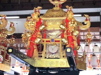 祇園祭の神輿