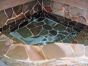 京都東山荘のお風呂