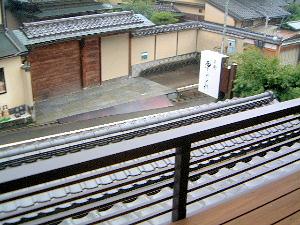 京都東山荘 部屋からの眺め