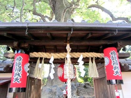樟龍弁財天 新熊野神社
