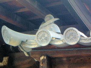 建仁寺の屋根瓦