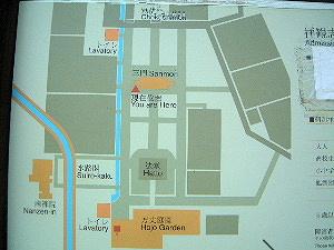 南禅寺の境内地図 境内マップ 境内案内図