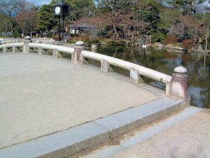 円山公園の太鼓橋