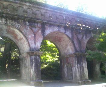 南禅寺の疎水陸橋