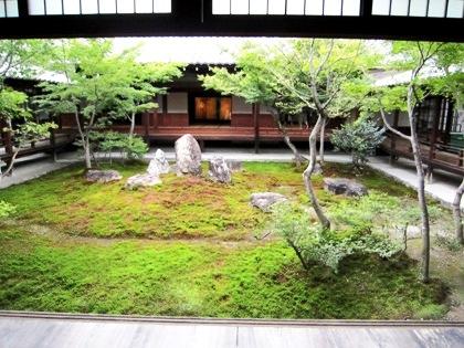 潮音庭 三連の庭 建仁寺