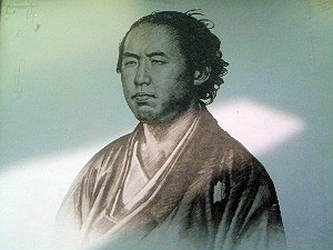 坂本竜馬の顔写真