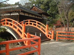 下鴨神社の太鼓橋