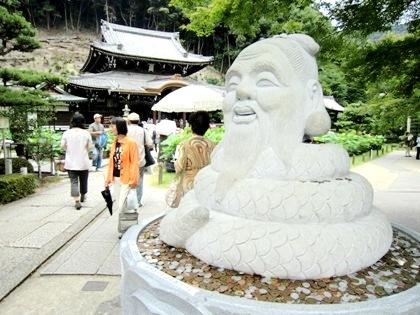 三室戸寺の宇賀神