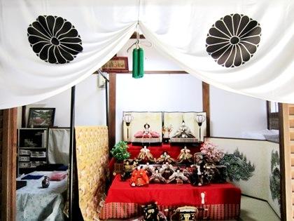 雛祭り 雛壇 雲龍院