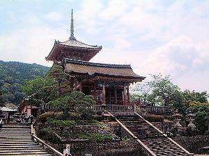 西門 三重塔 清水寺