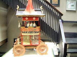 山鉾の模型 祇園祭
